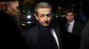 Nicolas Sarkozy lors de sa campagne pour les primaires de la droite, le 3 novembre 2016 à Paris.