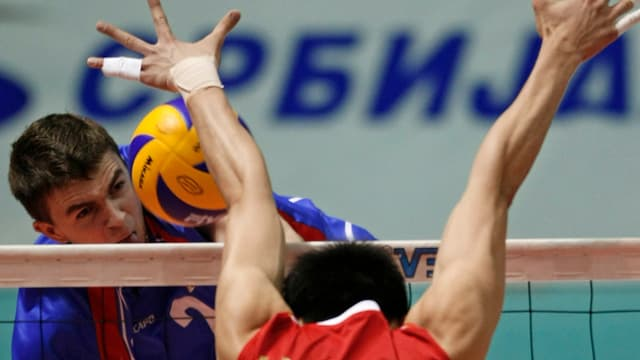 Le Serbe Uros Kovacevic
