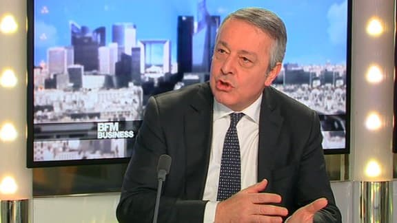 Antoine Frérot a indiqué que la dette de Veolia se situe entre 8 et 9 milliards d'euros.