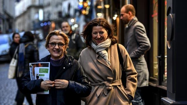 Florence Berthout et Agnès Buzyn.