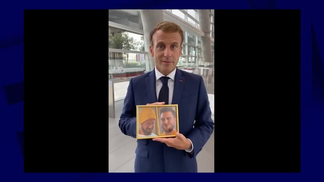 Emmanuel Macron le 2 septembre 2021
