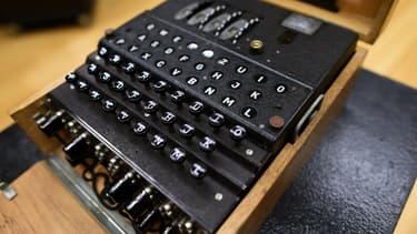 Exemple d'une machine Enigma.