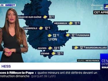 Météo à Lyon: un temps agréable ce lundi, jusqu'à 13°C l'après-midi