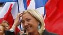 Selon la vice-présidente du Front national Marine Le Pen (photo), la Franco-Norvégienne Eva Joly ne peut être candidate à l'élection présidentielle en 2012 parce qu'elle n'a aucun lien de naissance avec la France. /Photo prise le 29 août 2010/REUTERS/Pasc