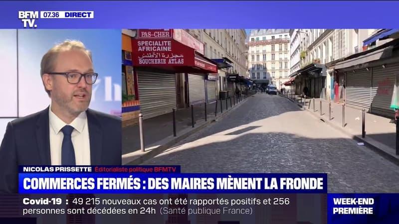 """Fermeture des magasins: """"Une mesure mal comprise par les Français"""", souligne Nicolas Prissette"""