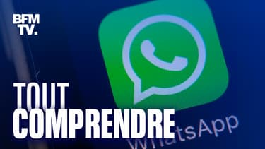 Logo de l'application de messagerie WhatsApp