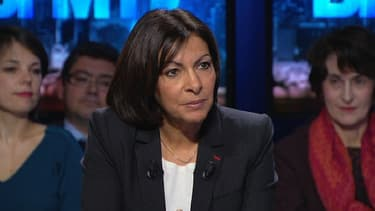 Anne Hidalgo dimanche 2 février sur BFMTV