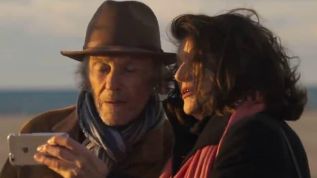 Jean-Louis Trintignant et Anouk Aimée dans Les Plus belles années d'une vie