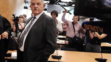 L'ancien maire de La Faute-sur-Mer René Maratier au procès Xynthia, le 15 septembre 2014.