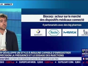 Éric Dessertenne (Biocorp): Biocorp développe un stylo injecteur d'insuline avec Novo Nordisk - 27/09
