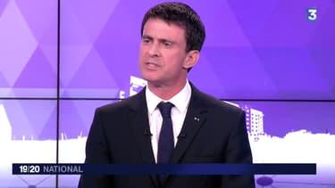 Manuel Valls, Premier ministre sur France 3, le 25 mars 2015.