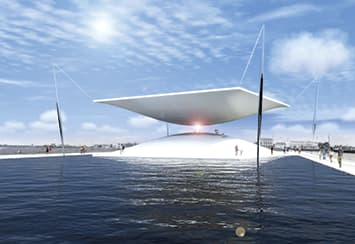 """The Solar Hourglass"" - LAGI 2014 - Copenhague"