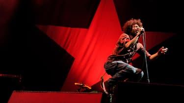 Rage Against The Machine, lors de l'un de ses derniers concerts, ici à Los Angeles en 2011.