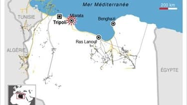 VIOLENTS COMBATS EN LIBYE