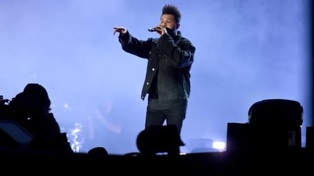 The Weeknd sur scène le 29 septembre 2018 à New York