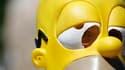 Célèbre amateur de bière et de beignets, Homer Simpson, est le meilleur personnage créé pour de la télévision ou le cinéma des vingt dernières années, selon un sondage réalisé pour le magazine Entertainment Weekly. /Photo d'archives/REUTERS/Lucas Jackson