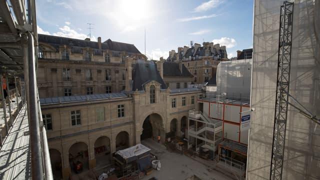 Le musée Carnavalet actuellement en cours de restauration