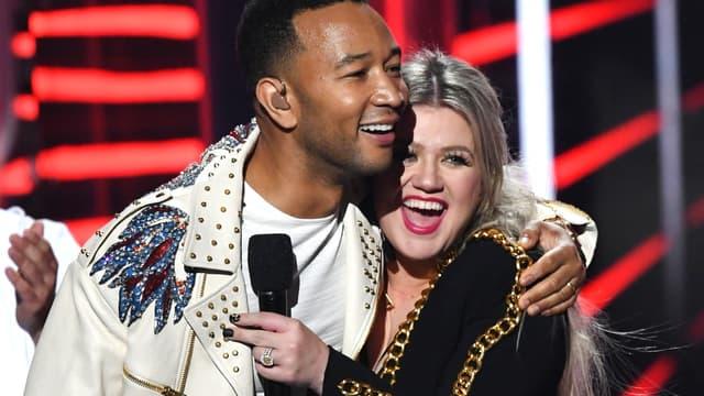 John Legend et Kelly Clarkson