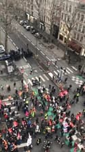 Manifestation contre la réforme des retraites à Lille - Témoins BFMTV