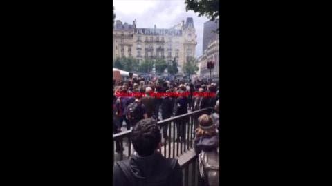 Loi Travail: au cœur du cortège parisien