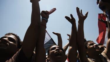 Des manifestants anti-Morsi