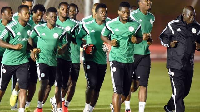 L'équipe du Nigeria