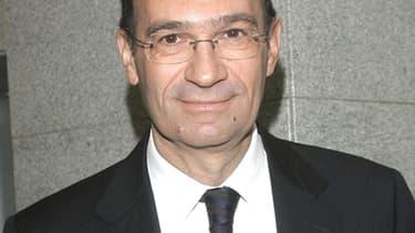 Eric Woerth, ministre du Travail, de la Solidarité et de la Fonction publique