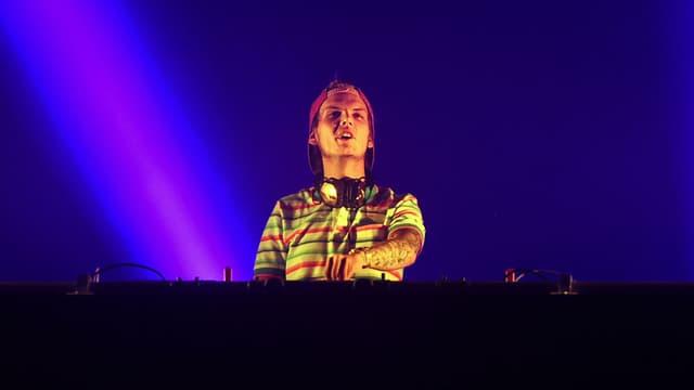 Tim Bergling, alias Avicii, considéré comme l'un des meilleurs DJs au monde