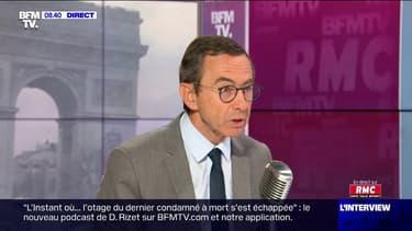 """Bruno Retailleau: """"Il faut que Macron oublie la campagne présidentielle"""""""