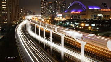 La start-up canadienne Transpod s'est lancée dans le projet Hyperloop en 2015.