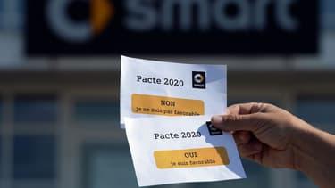 Les employés de Smart avaient approuvé à 56% le retour aux 39 heures