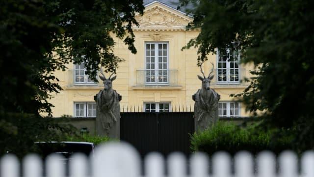 La Lanterne, résidence officielle située à Versailles, où Emmanuel Macron s'est isolé