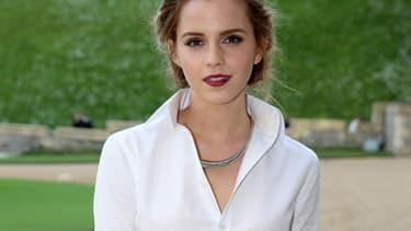 Emma Watson, le 13 mai au château de Windsor.