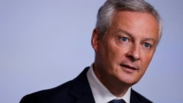 Le ministre de l'Economie Bruno Le Maire le 22 septembre 2021 à Paris
