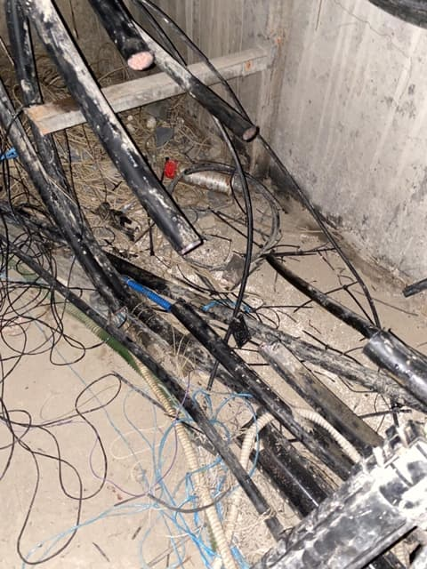 Des câbles de l'opérateur Orange sectionnés dans le Val-de-Marne.