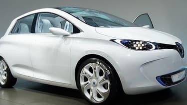 Le modèle 100% électrique de Renault, la Zoé, s'est vendue à quelques 2.500 exemplaires depuis son lancement