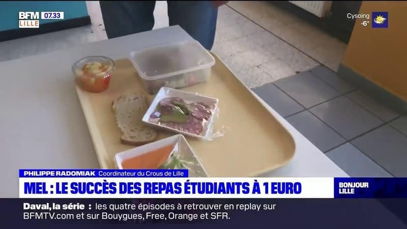 Lille: le succès des repas étudiants à 1 euro