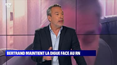 L'édito de Matthieu Croissandeau: Xavier Bertrand maintient la digue face au RN - 25/09
