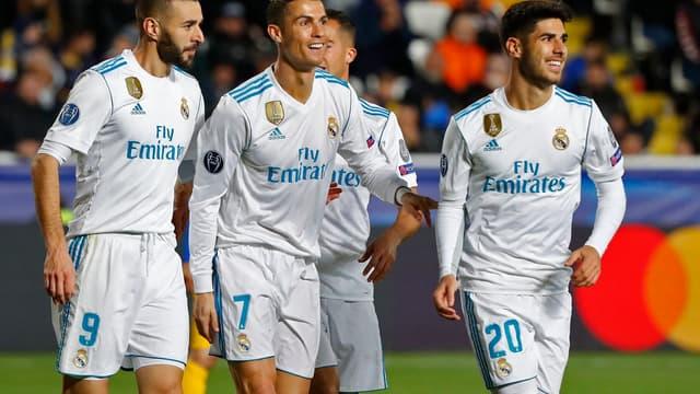 Benzema, Ronaldo et Asensio