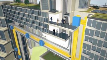 Les ascenseurs du futur fonctionneront sans aucun câble, et circuleront aussi bien à la verticale qu'à l'horizontale.