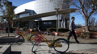 Les pistes cyclables et des chemins piétons sont prévus dans le futur quartier général de Google