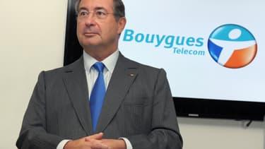 Martin Bouygues, le PDG de Bouygues Telecom.