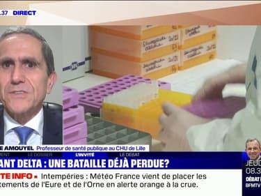 """Pr Amouyel sur le variant Delta: """"C'est maintenant qu'il faut agir si on veut vraiment éviter une nouvelle vague"""""""