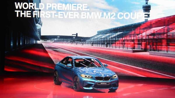 La nouvelle BMW M2 est l'une des nouveautés les plus marquantes du salon de Détroit en 2016.