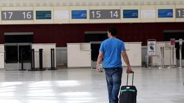 L'aéroport de Bordeaux-Mérignac le 11 juin 2013