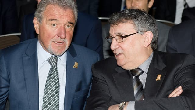 Graham Taylor (à droite)