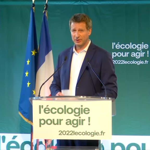"""EN DIRECT - Yannick Jadot, vainqueur de la primaire écologiste: """"je serai le président du climat"""""""