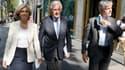 Valérie Pécresse, Michel Barnier et Laurent Wauquiez, le 20 juillet 2021 à Paris