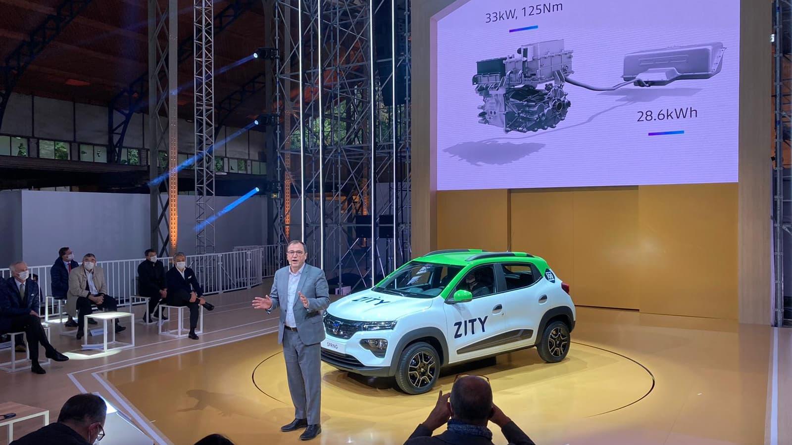 Les magasins Leclerc vont proposer la première Dacia électrique à la location