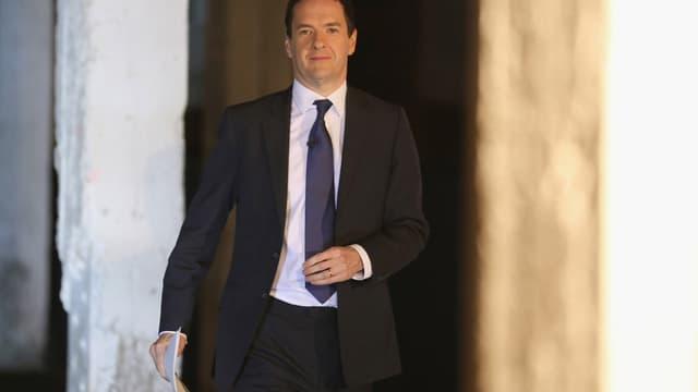 """George Osborne veut instaurer une """"règle d'or"""". ."""